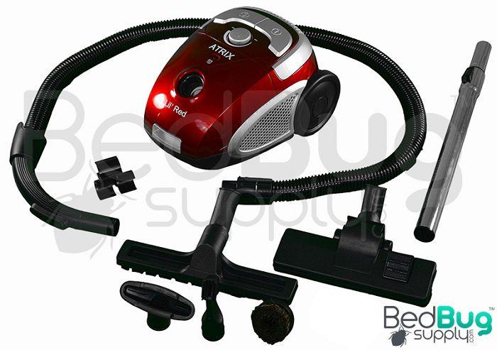 Atrix Lil Red Hepa Bed Bug Vacuum