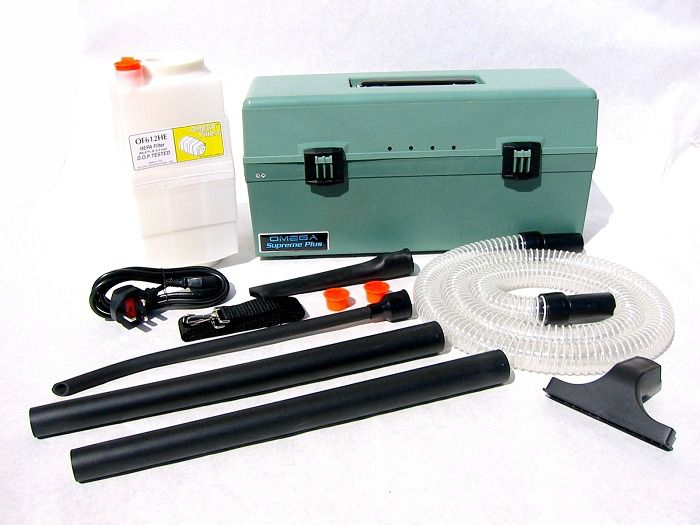 atrix omega clear hose green supreme hepa vacuum includes 1 filter - Hepa Vacuum