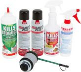 bed bug sprays and powders
