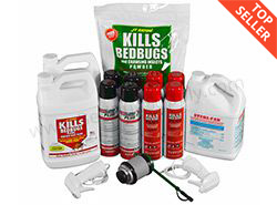 Professional Bed Bug Kit (Commercial Application) With New Bedlam Plus  *ON SALE