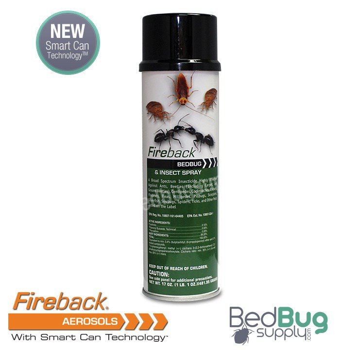 fireback bed bug and insect spray