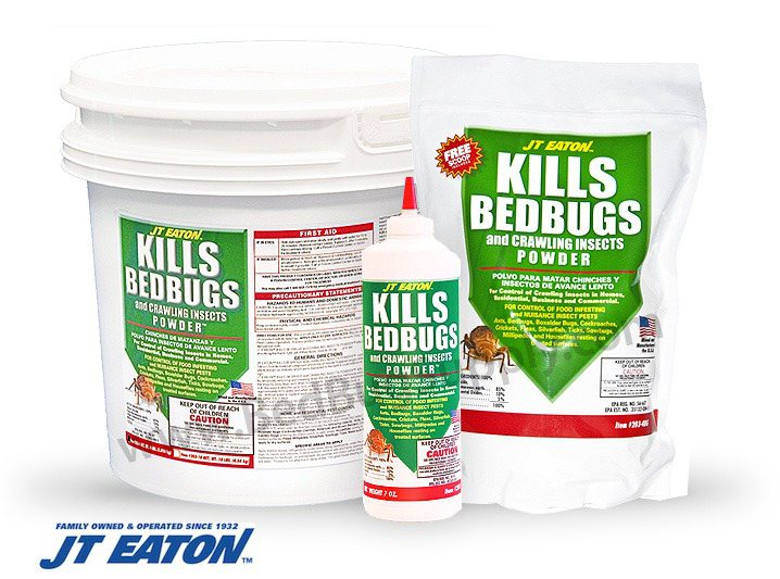 JT Eaton Kills Bed Bugs Powder