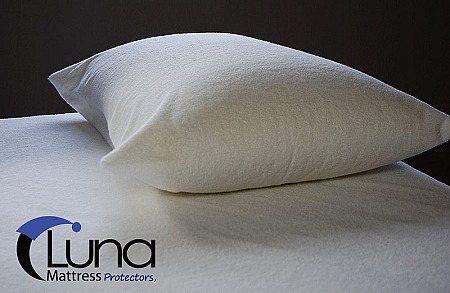 "Luna Waterproof Zippered Bed Bug Proof Mattress Encasement 9"""