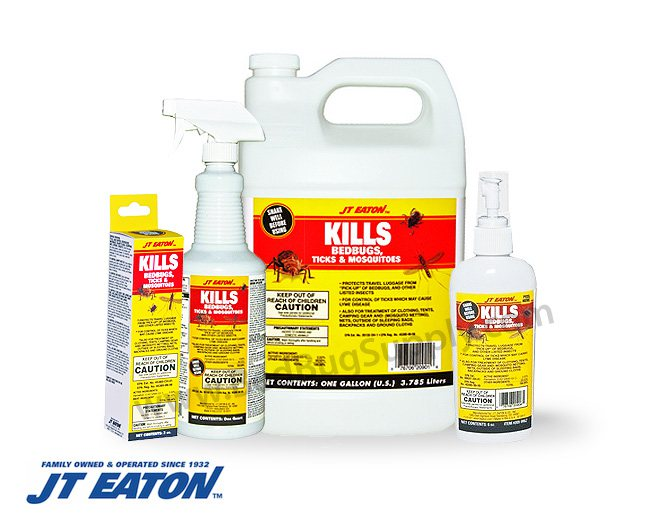 Jt Eaton Bed Bug Control Spray For Luggage