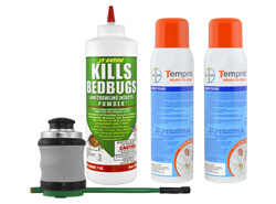 Express Professional Bed Bug Kit (1-2 rooms) with FREE 2-Day Express Shipping