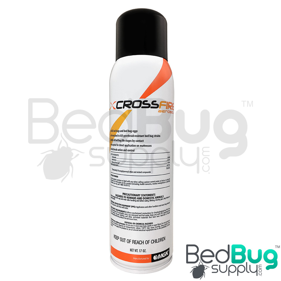 Crossfire Aerosol Bed Bug Spray Residual Spray