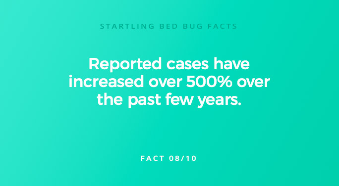 Reported cases have increased over 500% over the past few years.