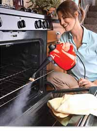 Haan HS-20R Handheld Steam Cleaner with Attachments