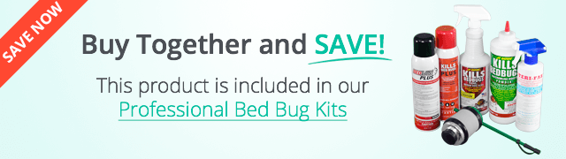 Included in our bed bug kits