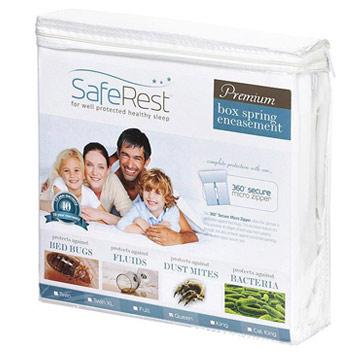 Saferest Premium Bed Bug Proof Mattress Encasement Fits 9