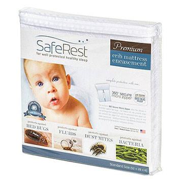 SafeRest Premium Crib Mattress Encasement