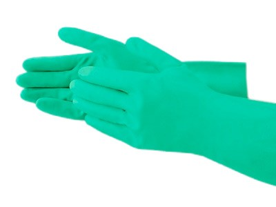 Chemical Resistant Nitrile Gloves (3 Pairs)