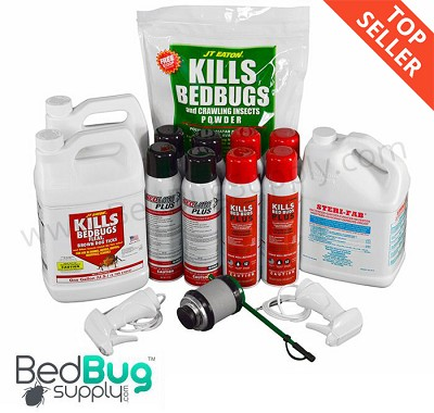 Professional Bed Bug Kit (Commercial Application) With New Bedlam Plus  *ON SALE""