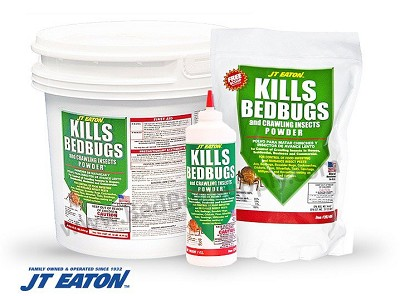 J.T. Eaton Kills Bedbugs and Crawling Insects Powder (Diatomaceous Earth - residual powder)