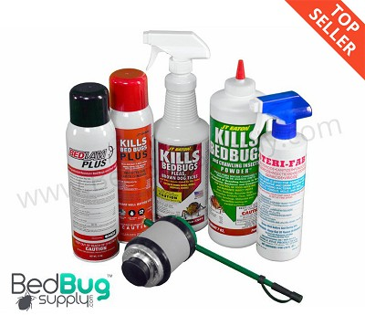 Professional Bed Bug Kit (1-2 rooms) With New Bedlam Plus *ON SALE*