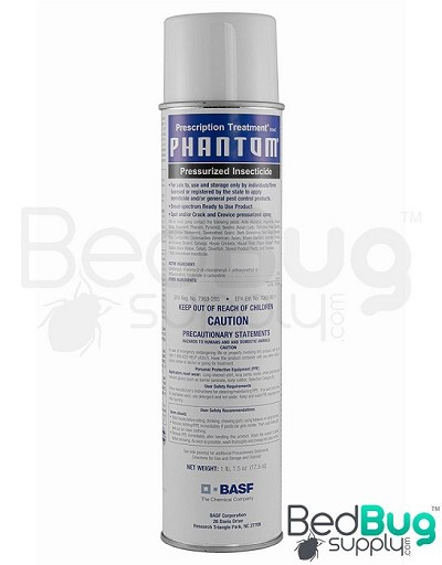 PT Phantom II Pressurized Bed Bug Spray (residual spray)