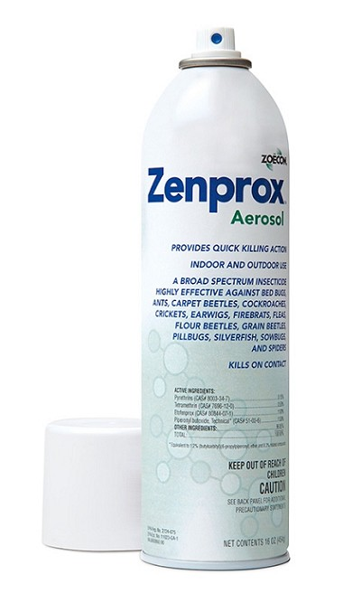 Zenprox Aerosol Insecticide (Contact Spray) DISCONTINUED